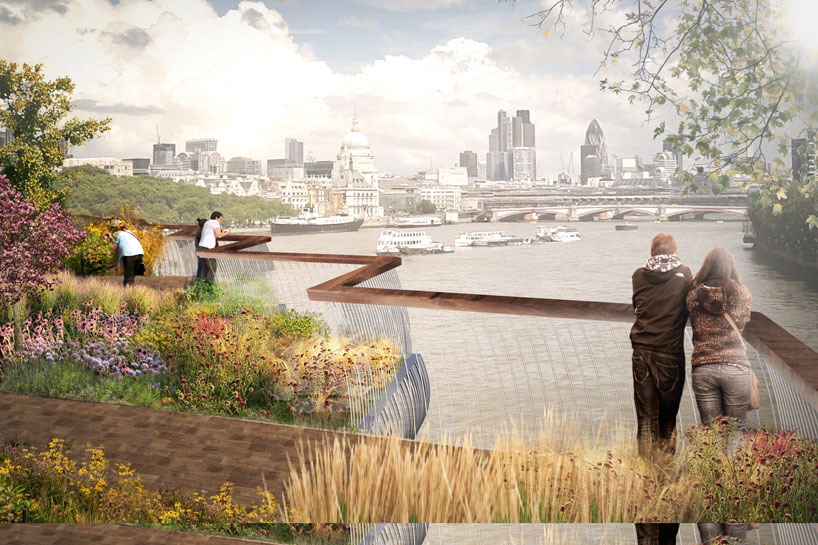 "Thomas Heatherwick's ""Garden Bridge"""