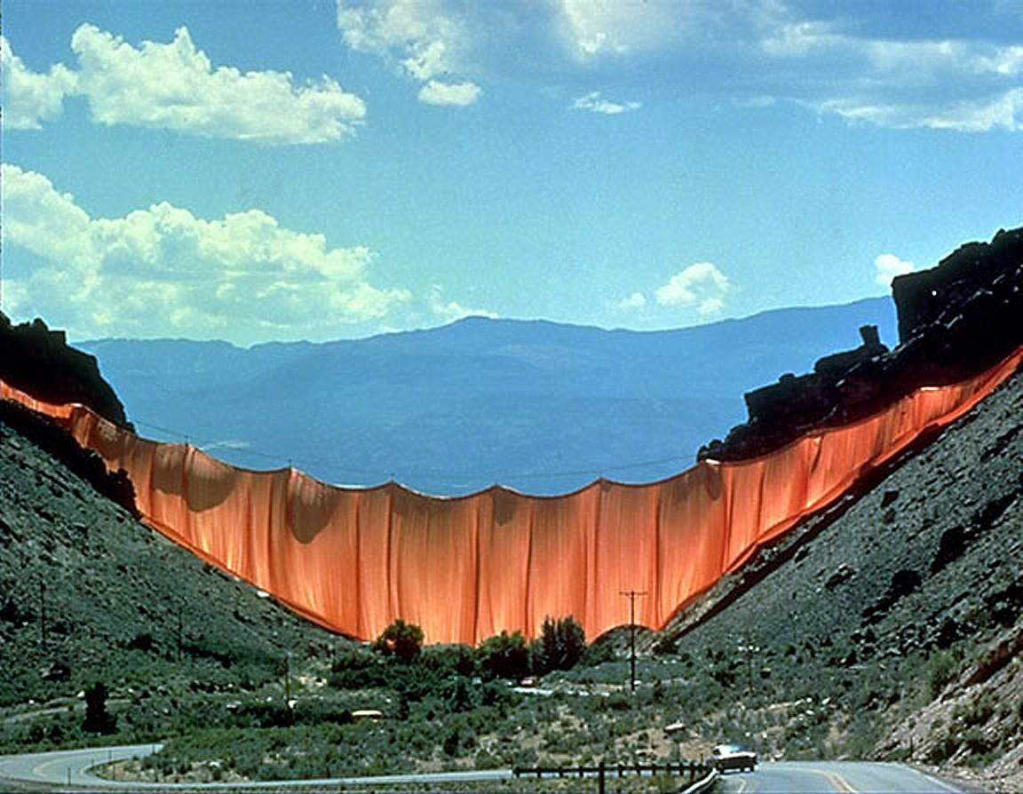 """Valley Curtain"""