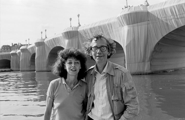 1985 Christo Christo and Jeanne-Claude at The Pont Neuf Wrapped