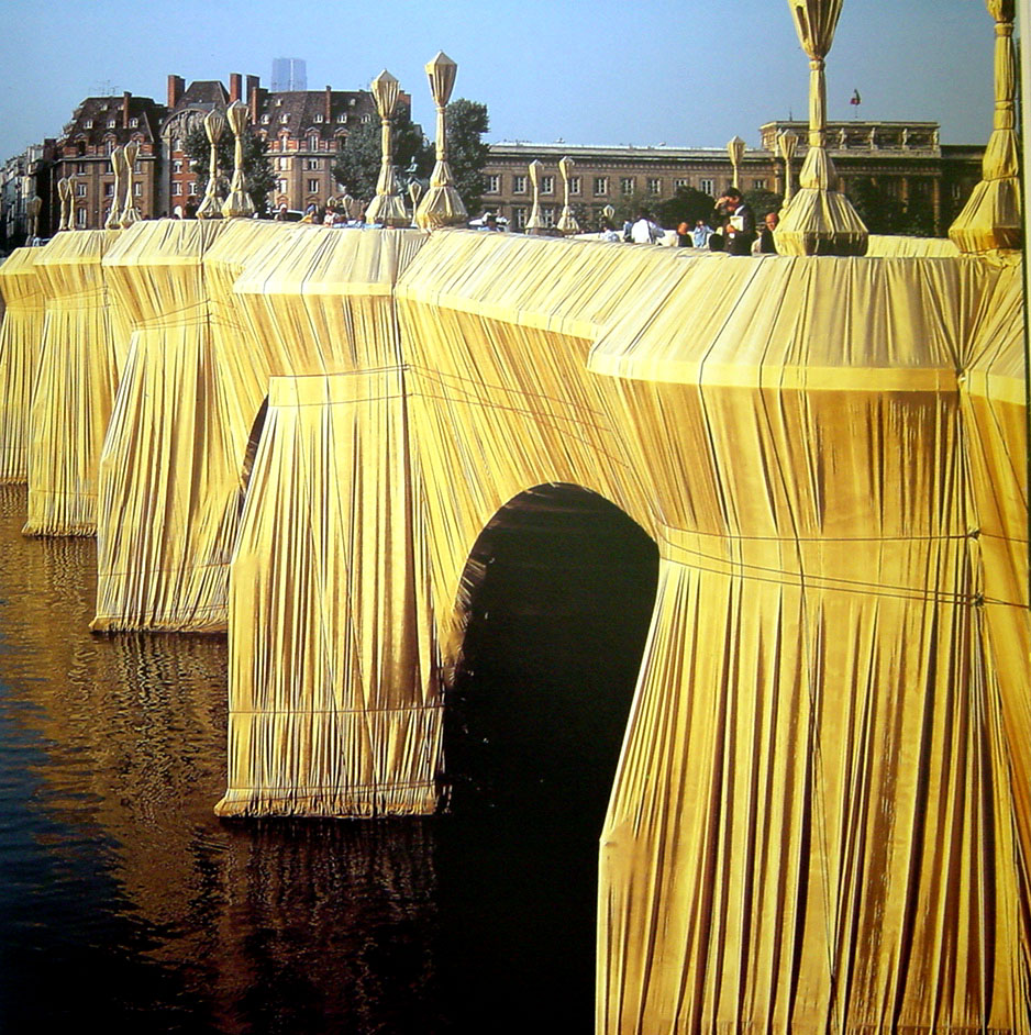 """The Pont Neuf Wrapped"""