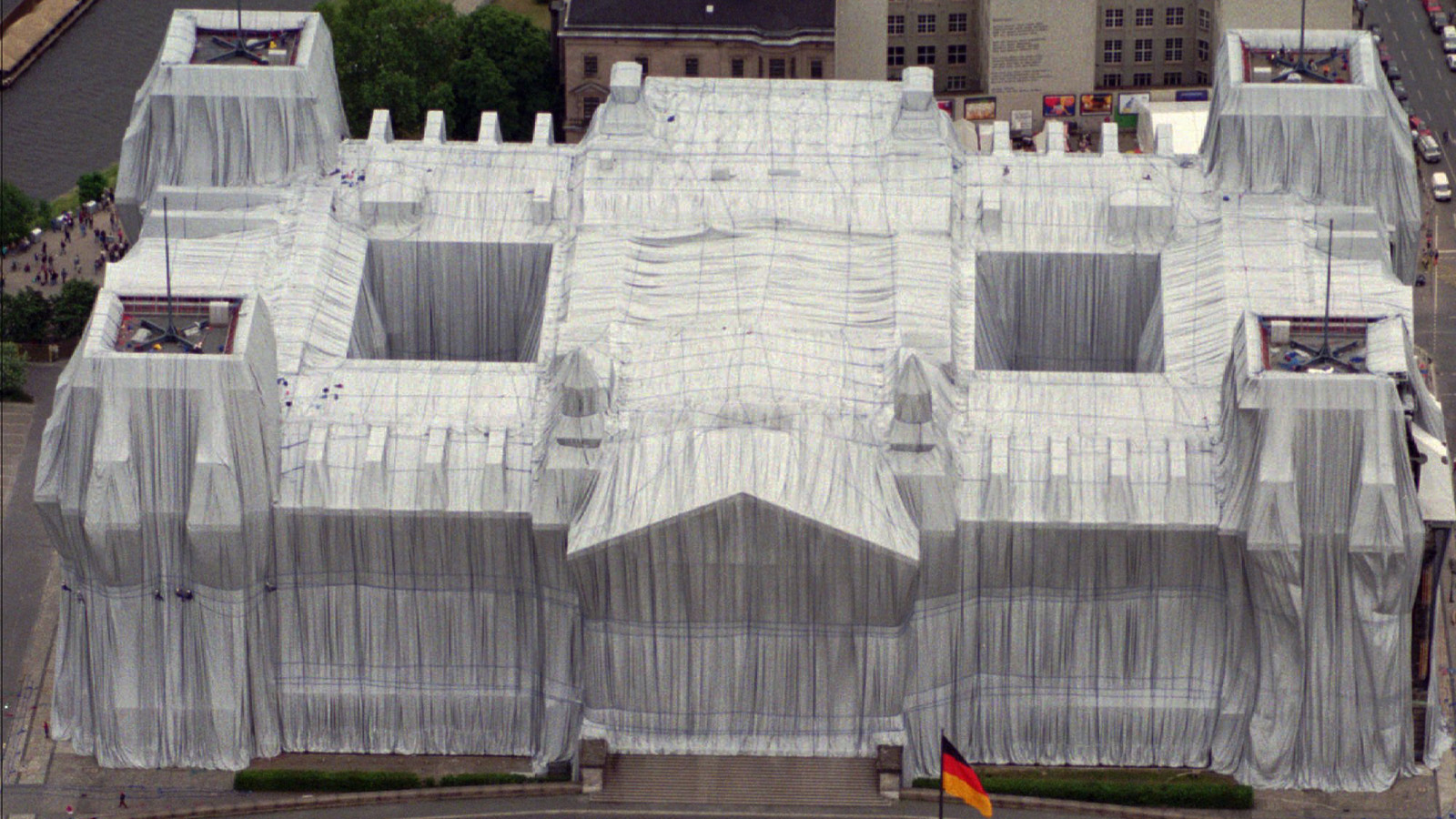 """Wrapped Reichstag"""