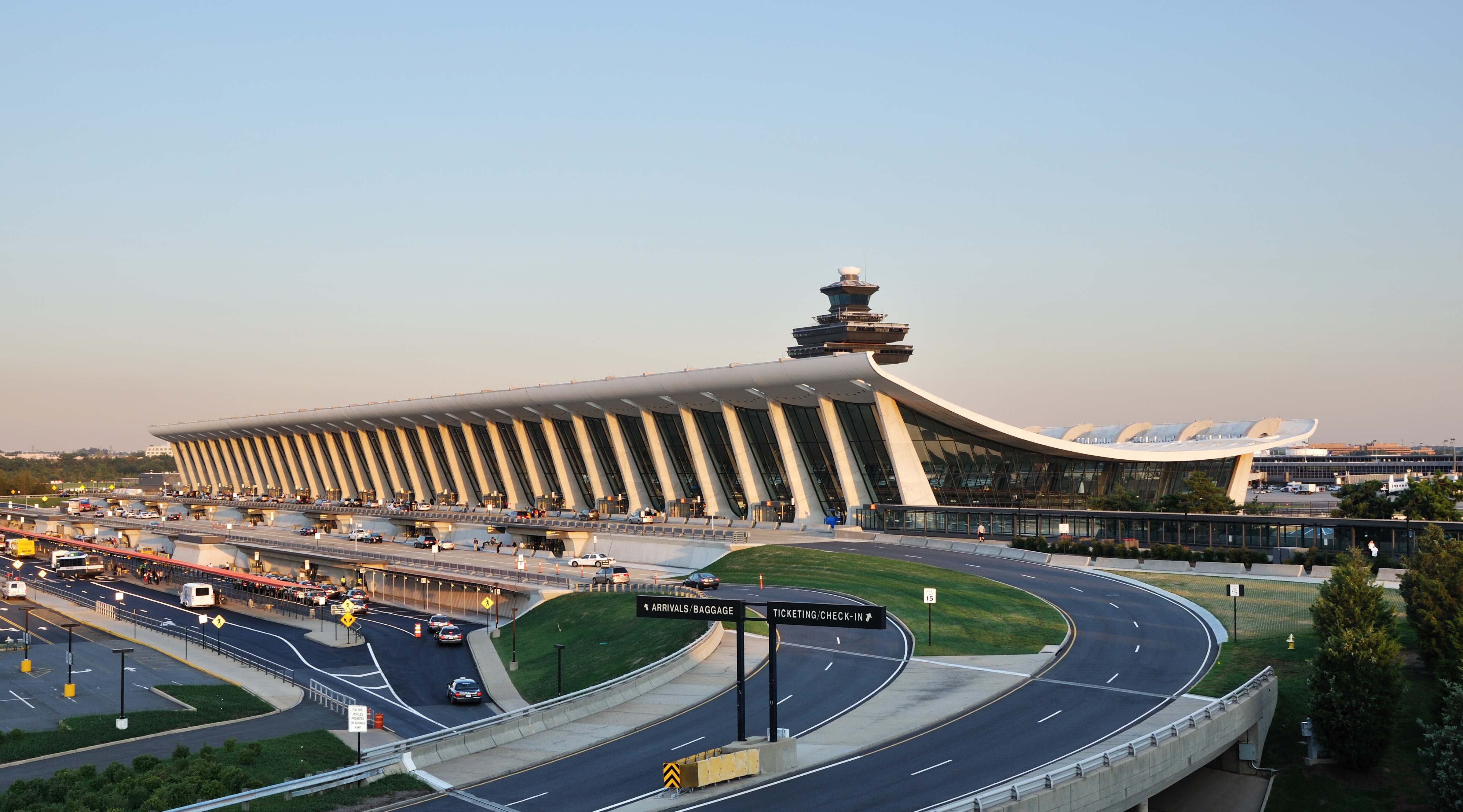 Dulles International Airport.