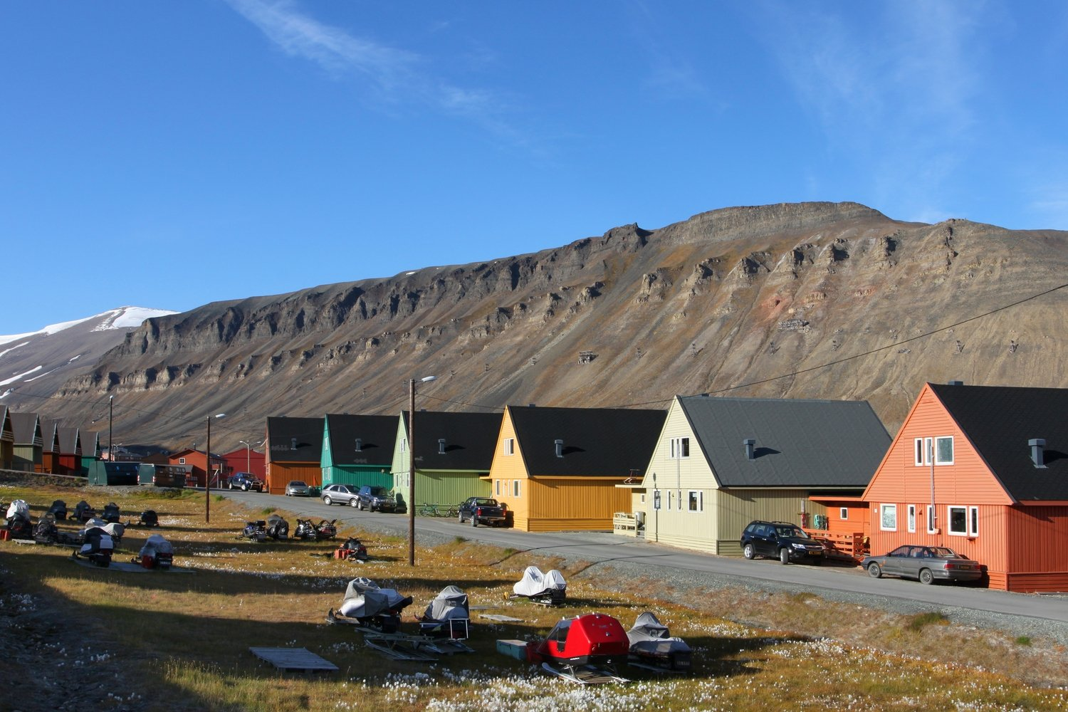Company homes in Longyearbyen  (10)