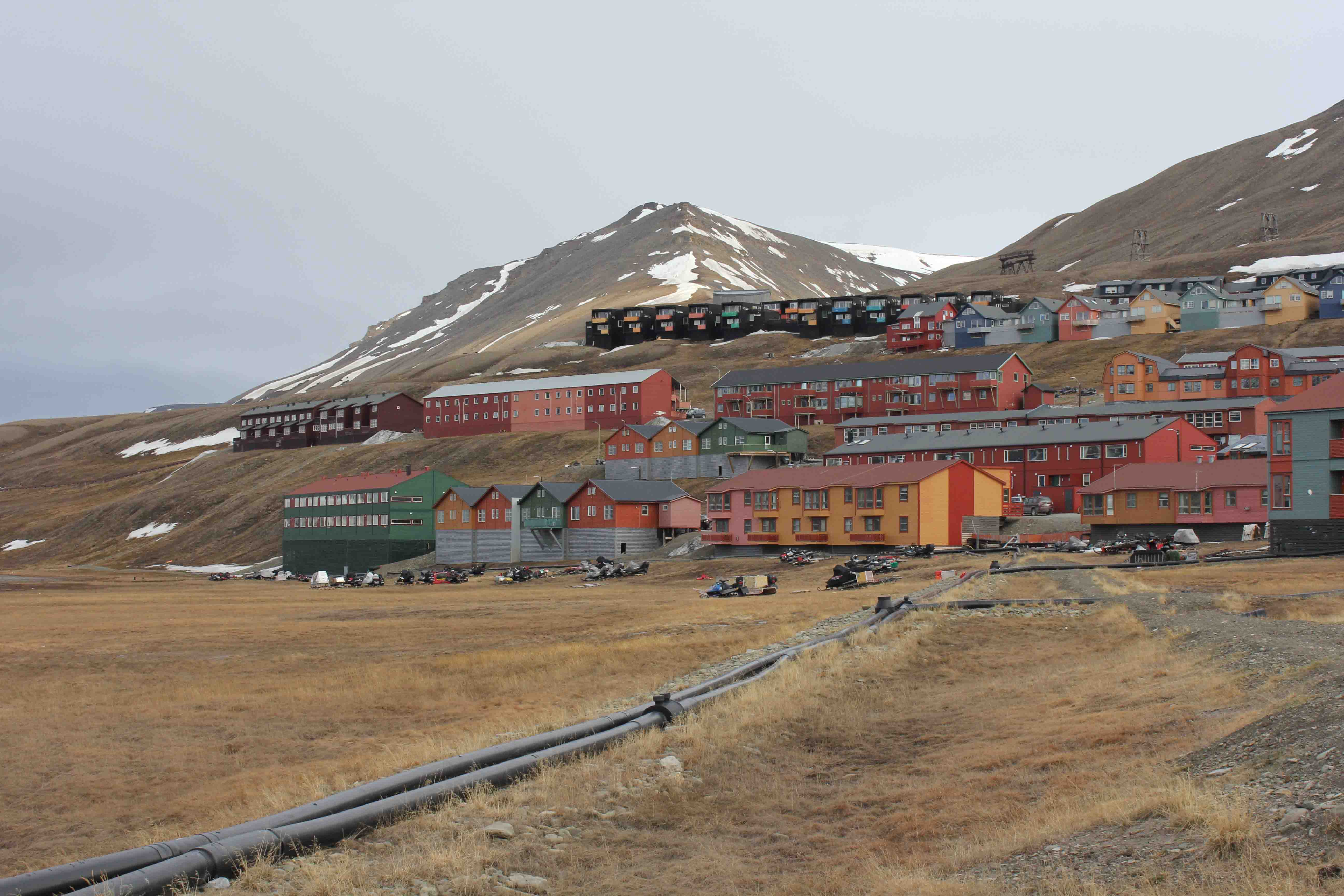 Company homes in Longyearbyen  (11)