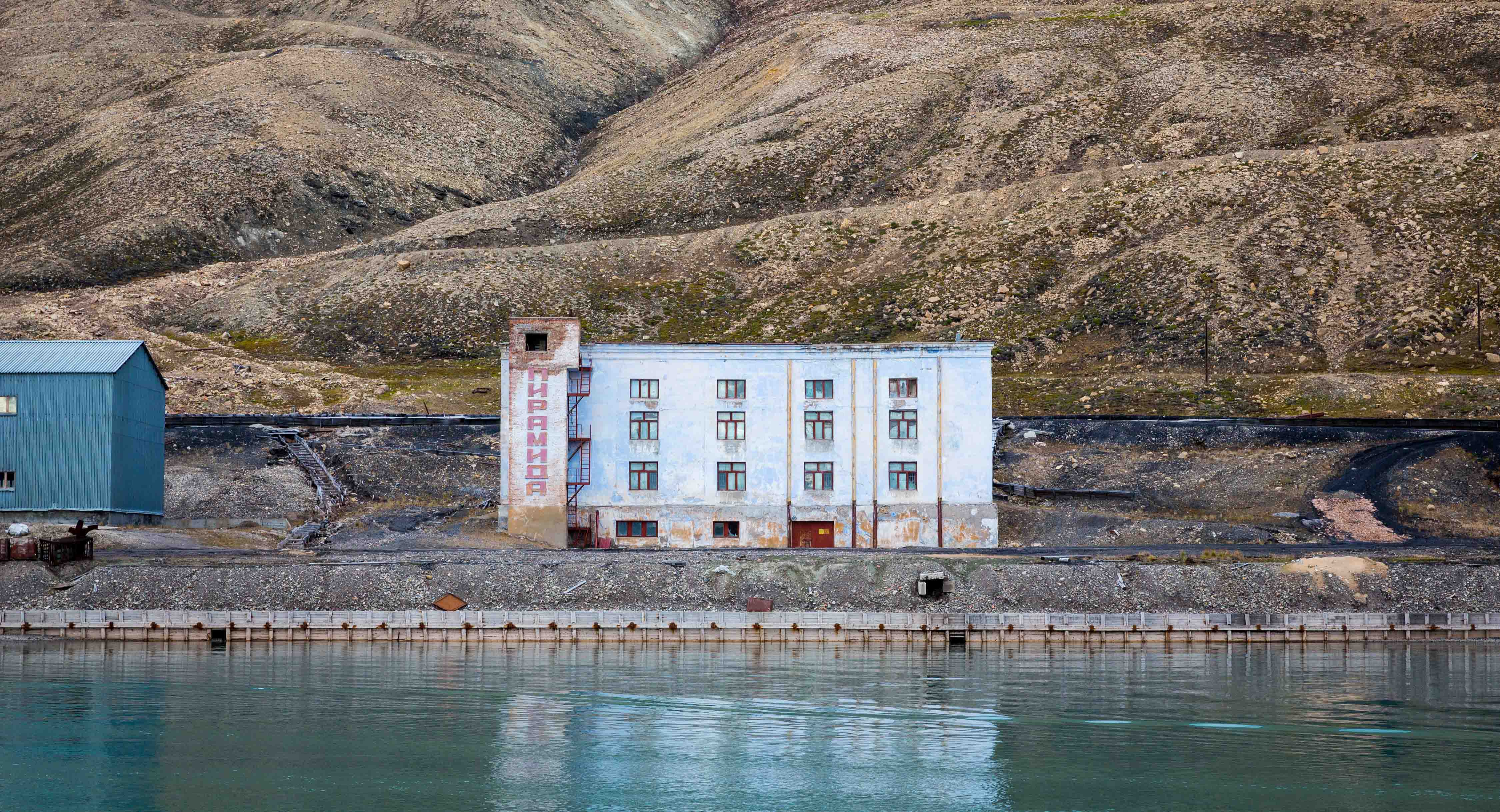 Russian Ghost Town in Svalbard (1)