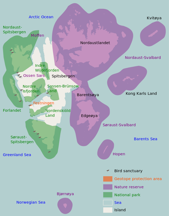 Svalbard protected areas