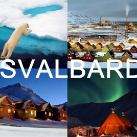 LONGYEARBYEN SVALBARD NORWAYS LANDSCAPES