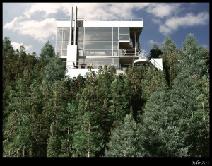 Richard Meier-Douglas House. SoloArt