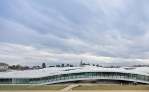 Sanaa rolex center by Iwan Baan