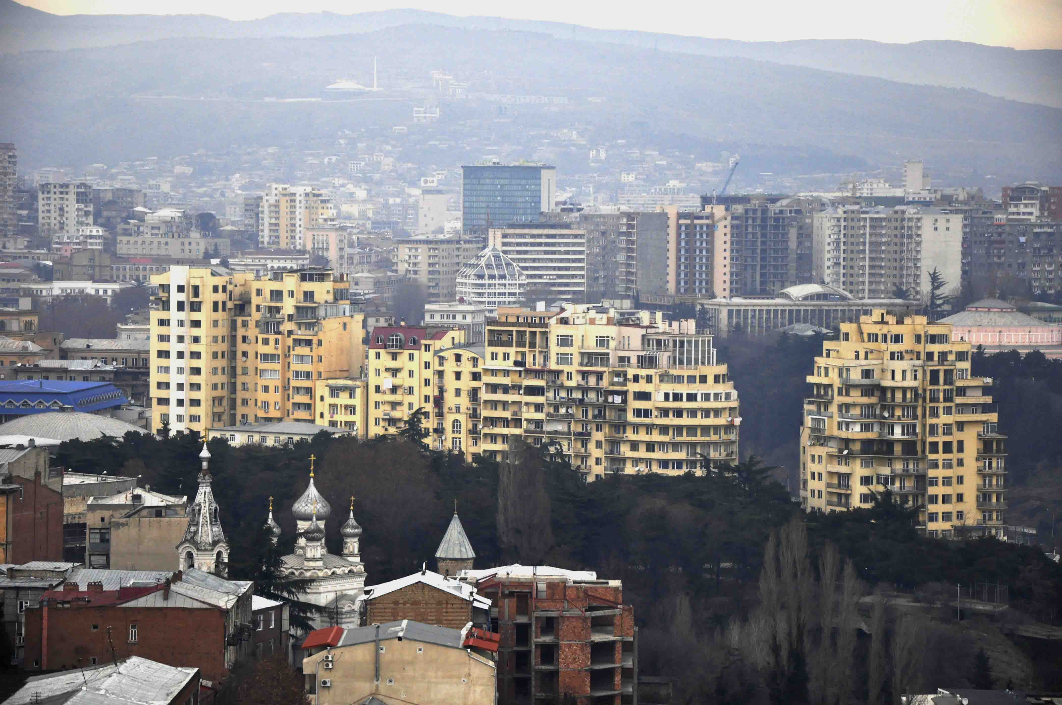 Center Point Vera Residential Complex in .  Photo: Nanuka Zaalishvili