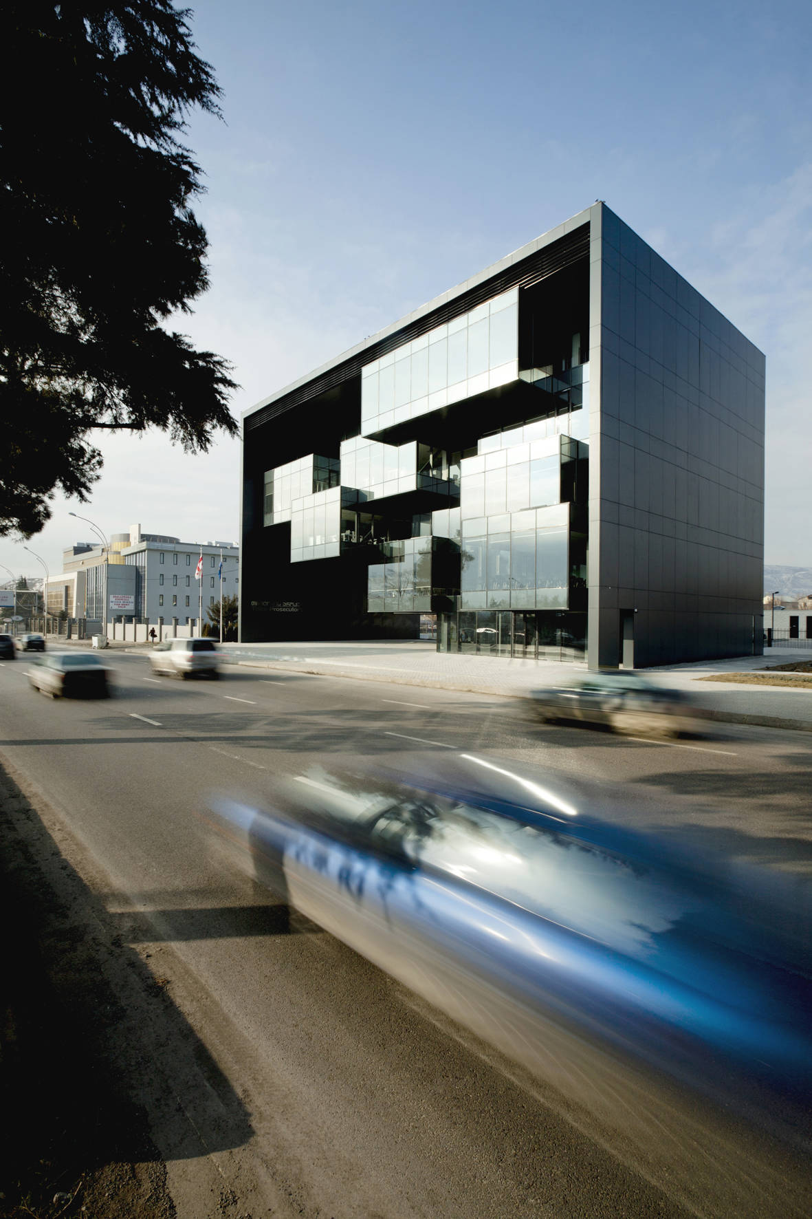 Tbilisi Prosecutors Office by Architects of Invention