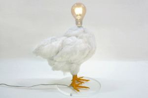 The Chicken Lamp