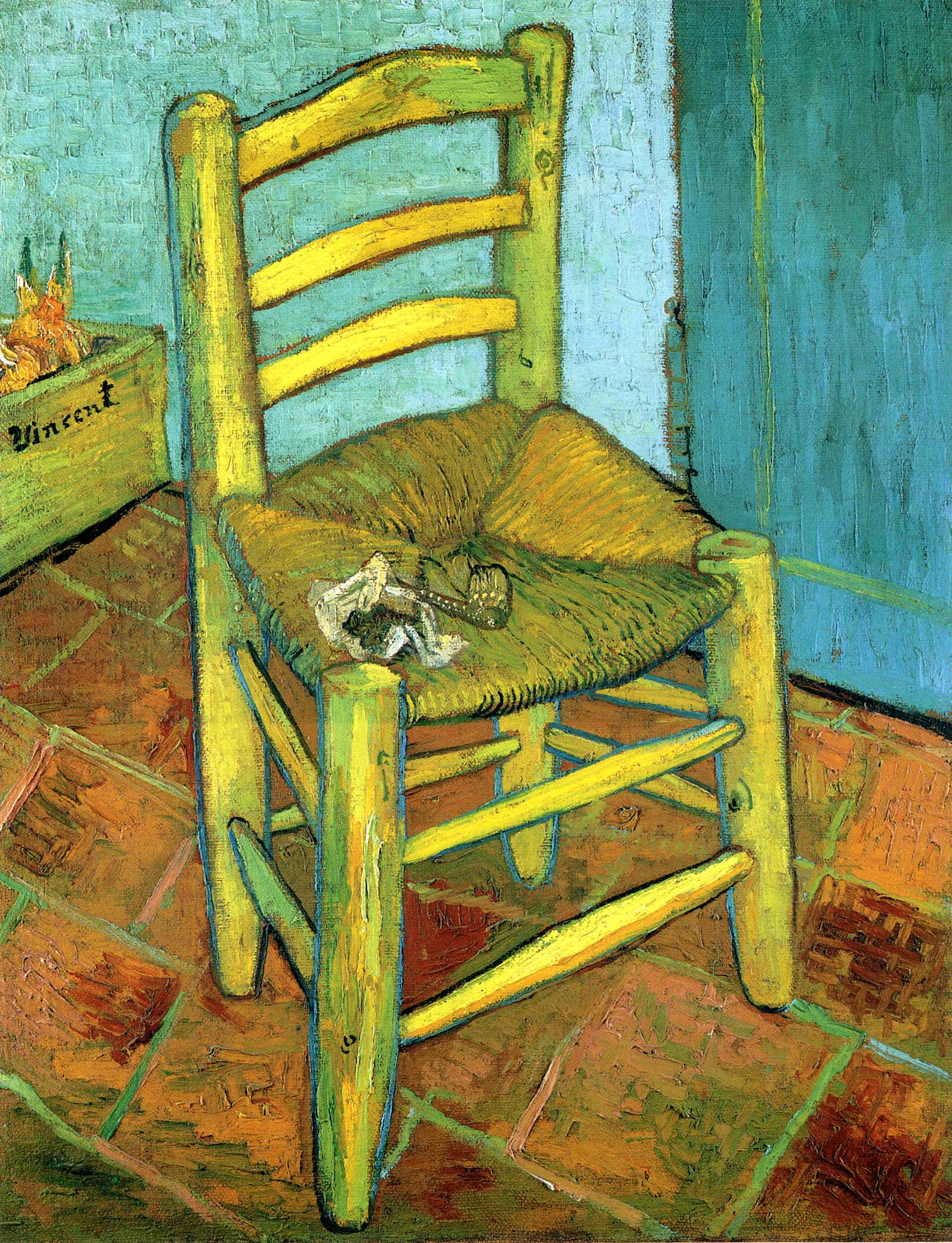 Van Gogh Chair-1889