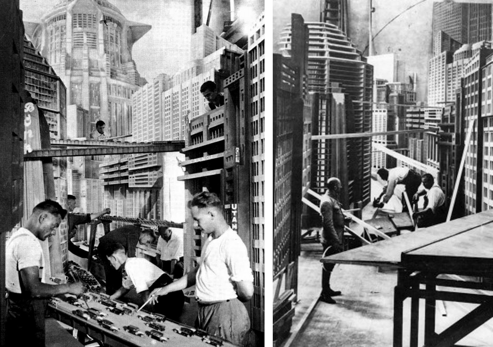 Source: Byronlast.com Making of Metropolis