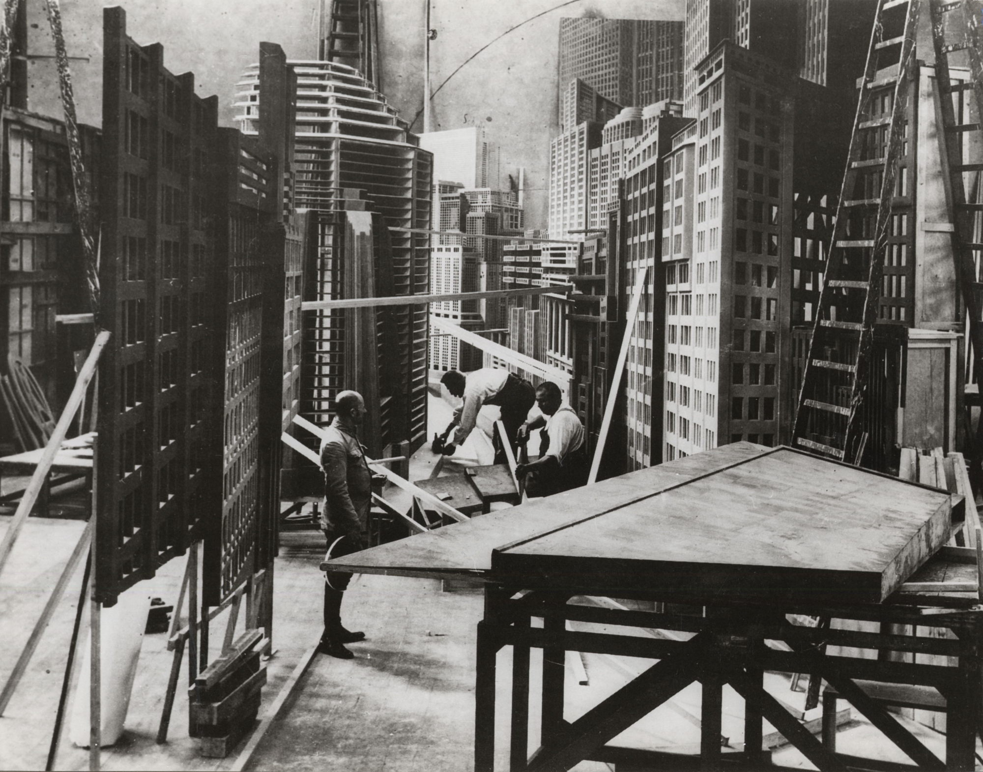 Source: Heise.de Making of Metropolis