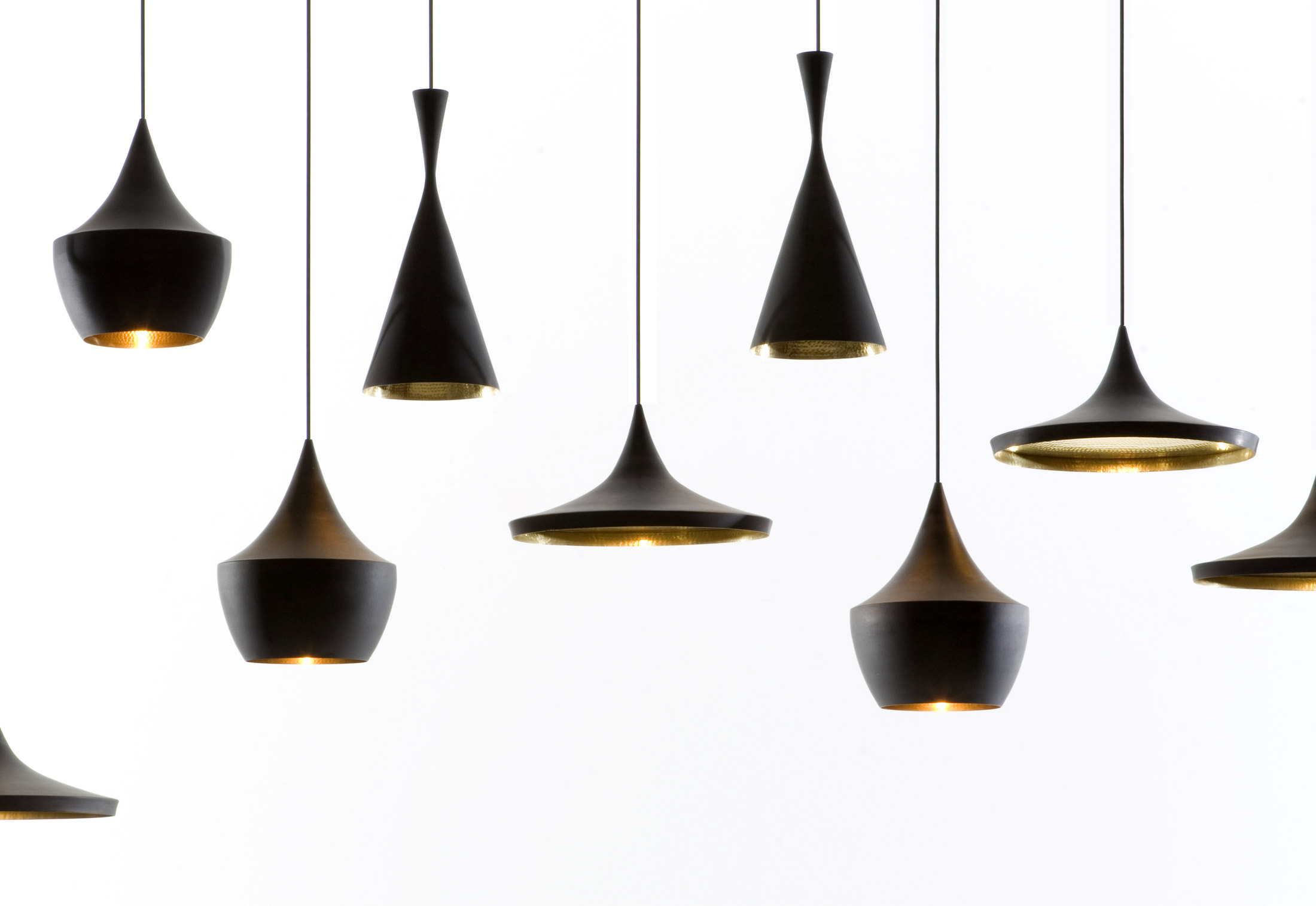 Tom dixon the most important designer of modernity idaaf for Suspension metal noir