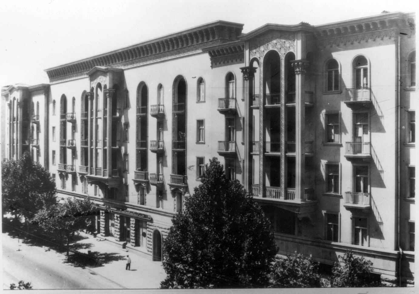 Building at Chavchavadze ave. (Family Archive)