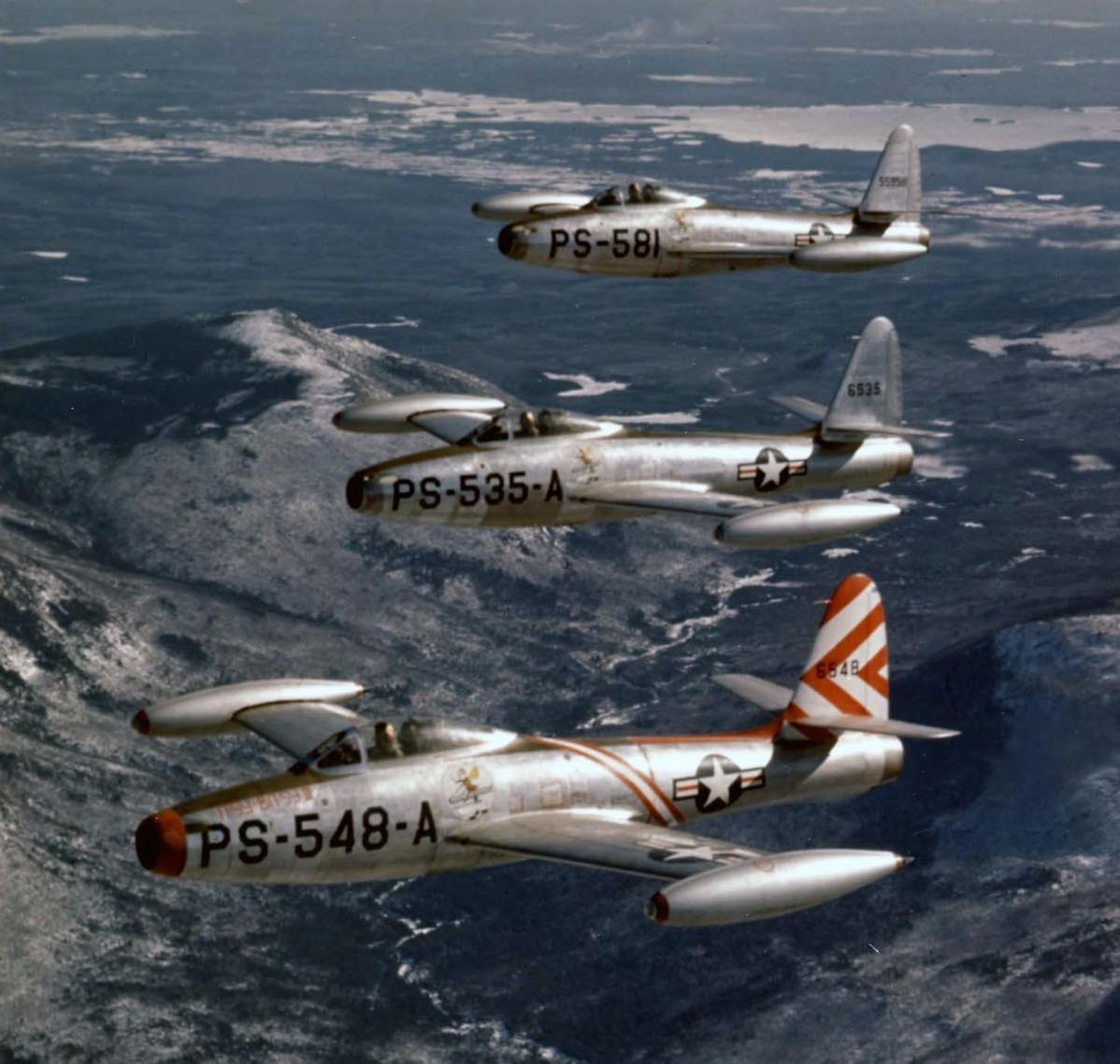Republic F-84 Thunderjet Source:  wikipedia.com