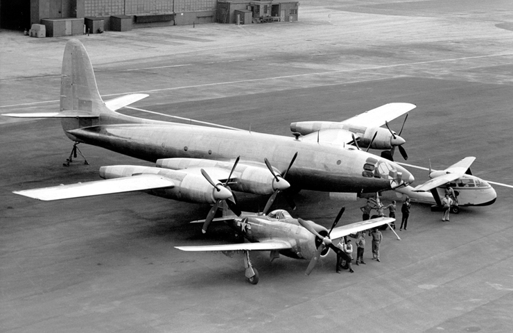 Republic XF-12 Source:  www.seabee.info