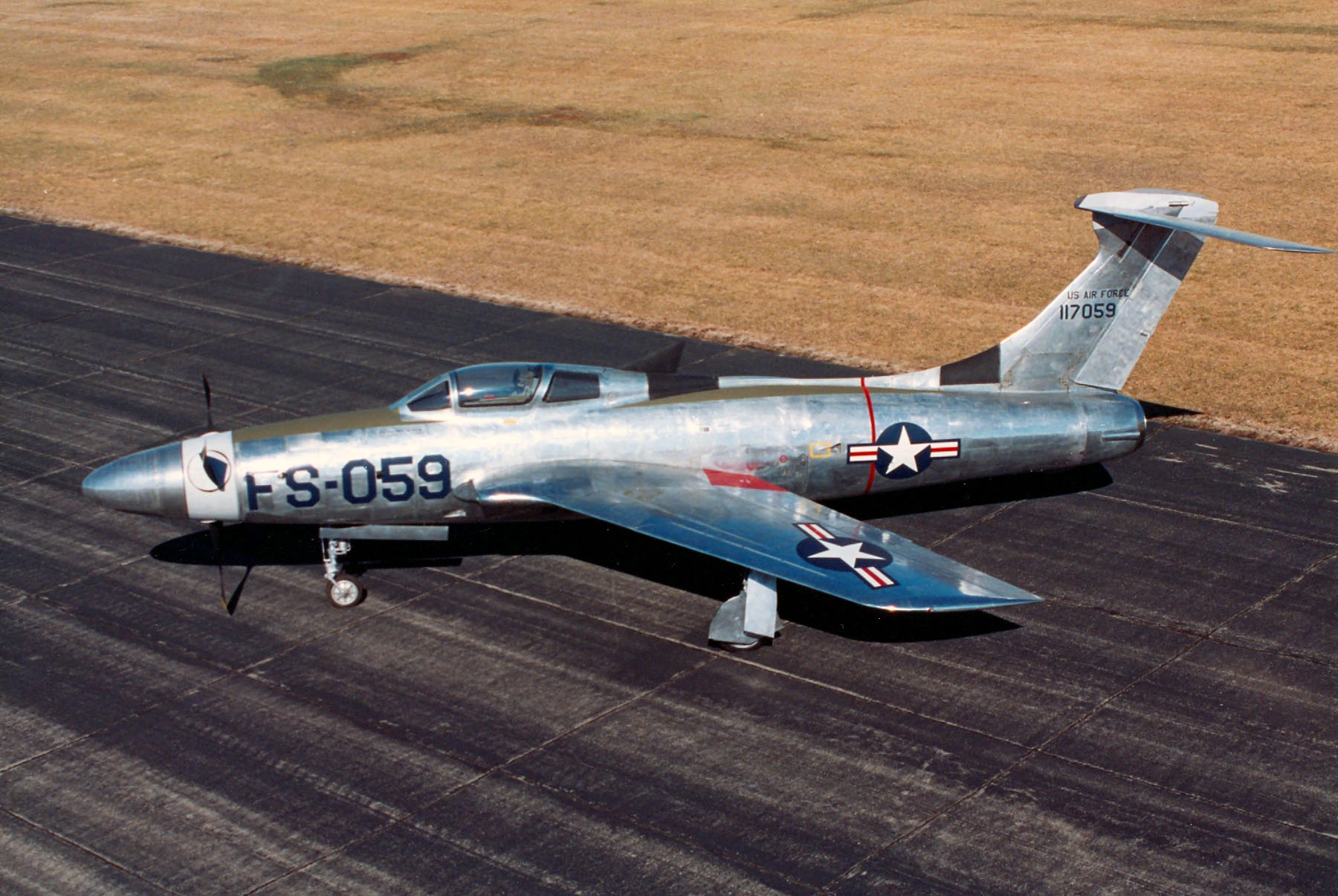 Republic XF-84H Thunderscreech Source:  snipview com