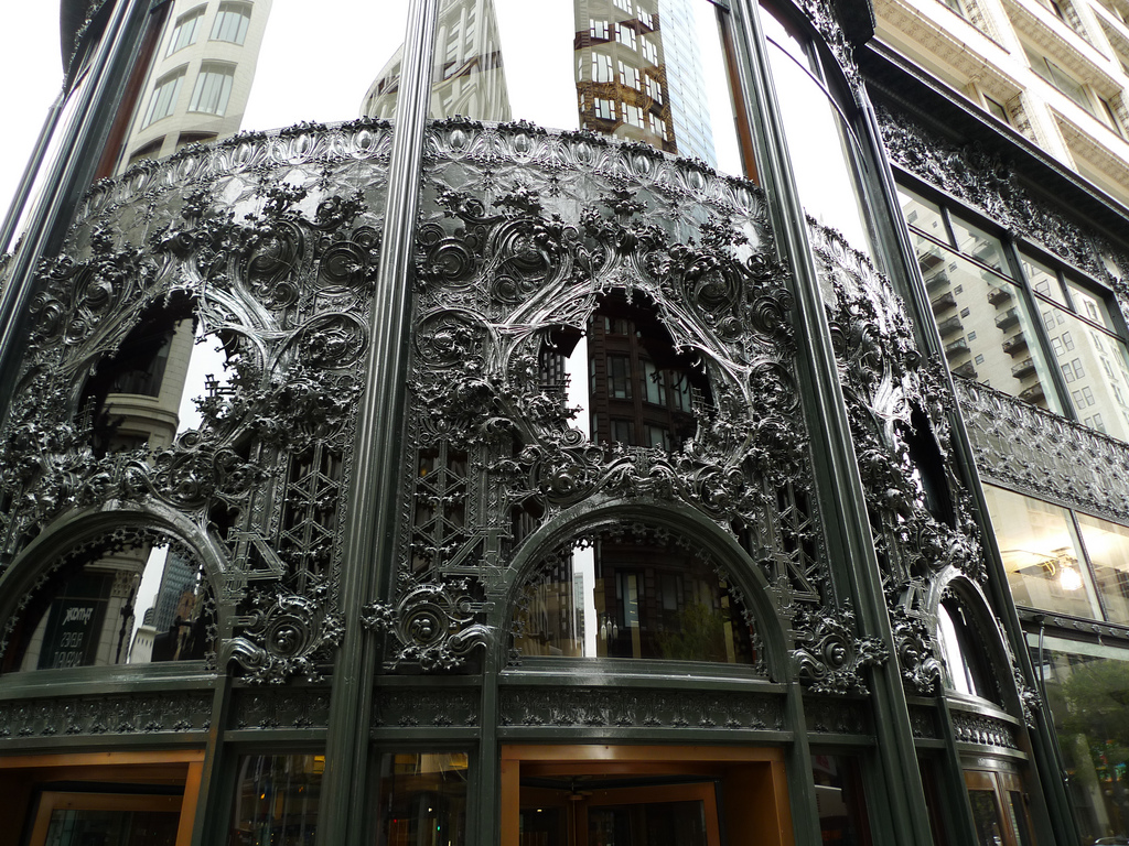 Louis Sullivan - Carson Pirie Scott & Co  (c) flickr com