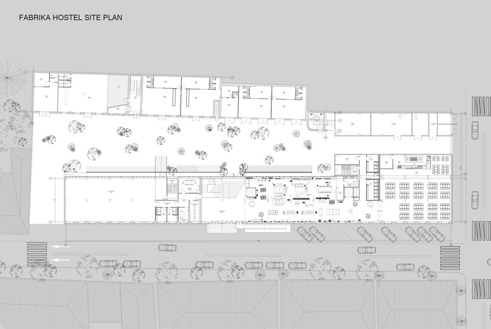 FABRIKA by MUA site plan courtesy of MUA