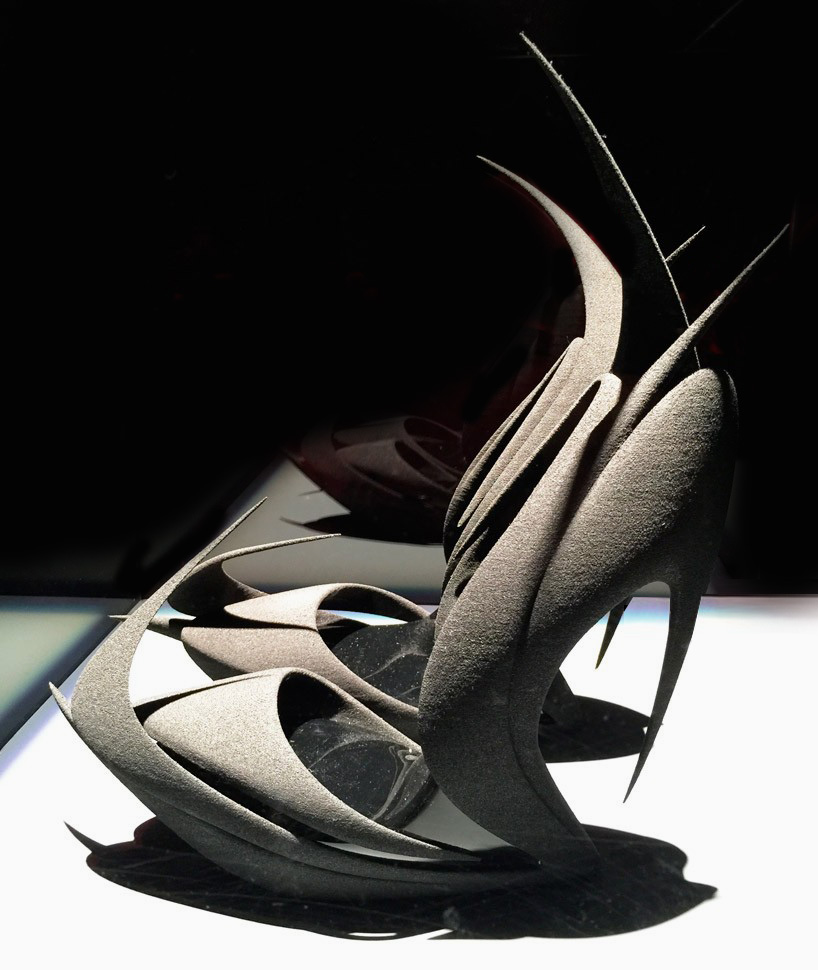 Zaha Hadid United- Nude Re-inventing Shoes