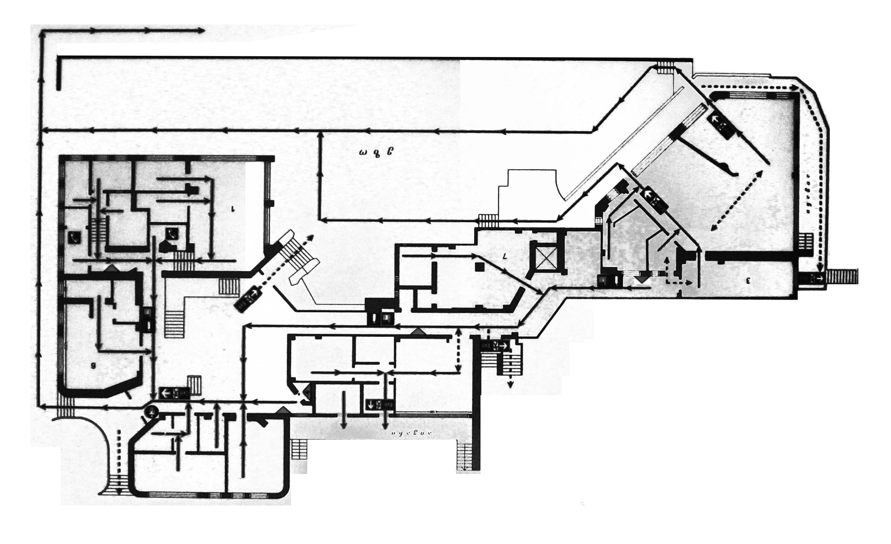 Kindergarten #95 Plan Floor I