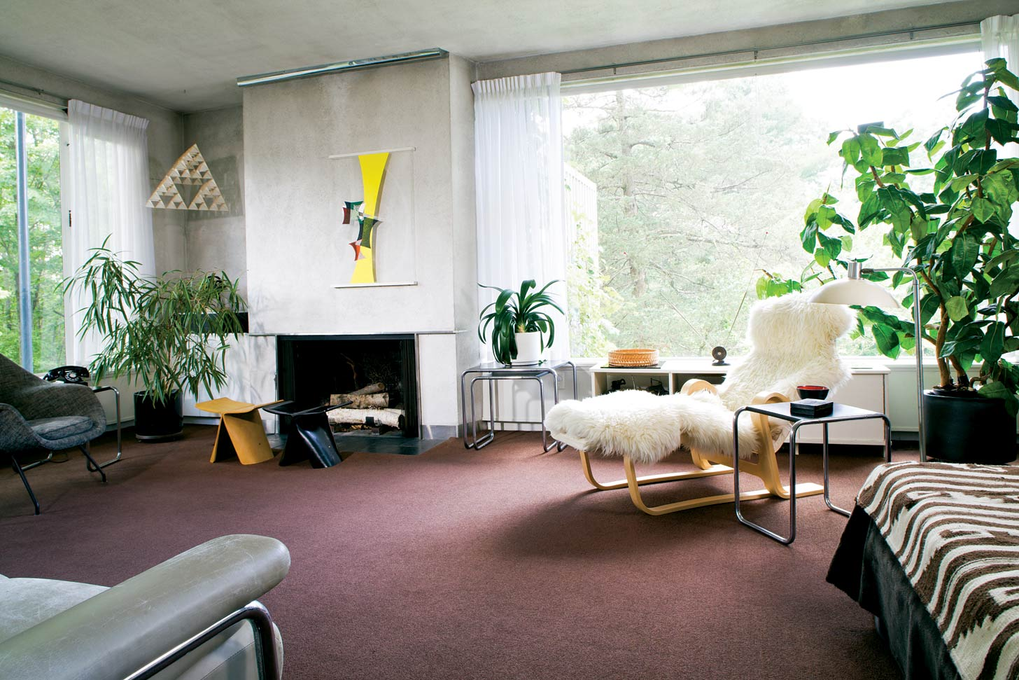 Gropius House. 1938. Interior