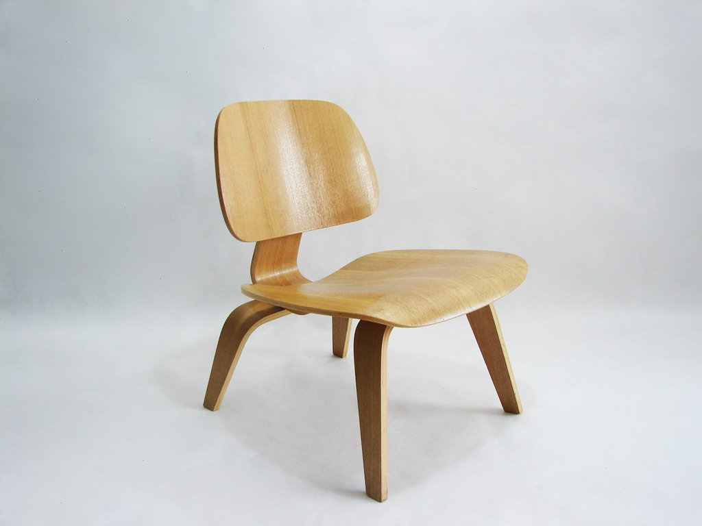Molded Plywood Lounge Chair by Eames