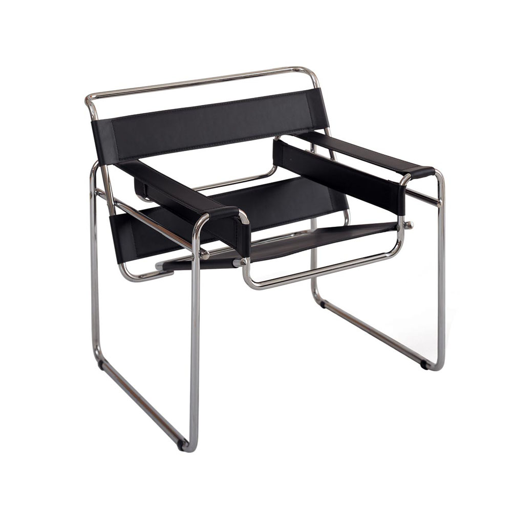 The Wassily Chair by by Marcel Breuer. 1925