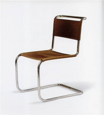 Tubular steel chair by Marcel Breuer