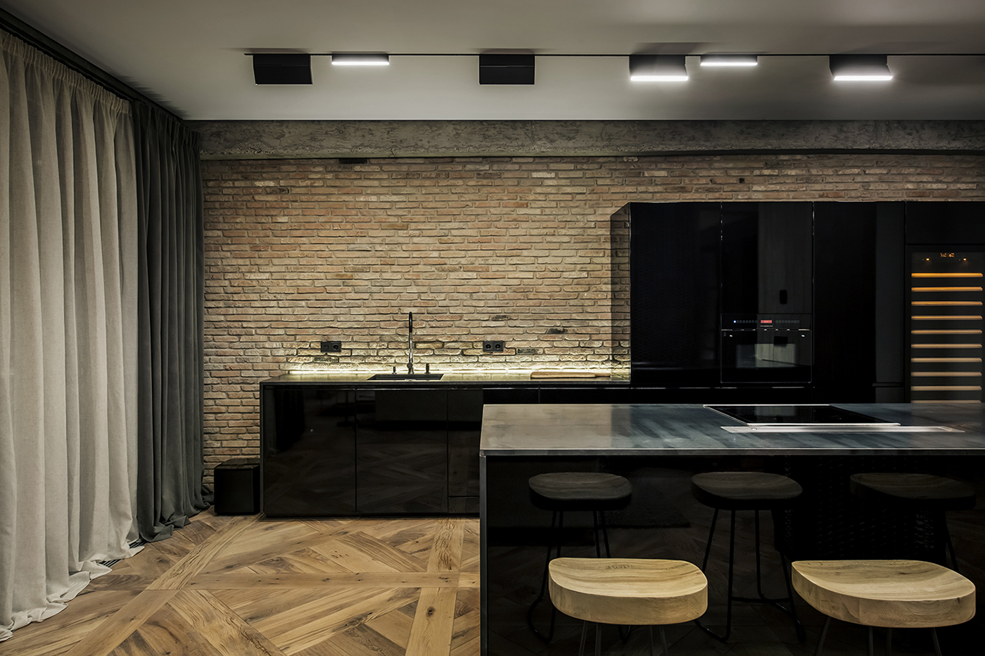 Apartment in Tbilisi by YØ DEZEEN