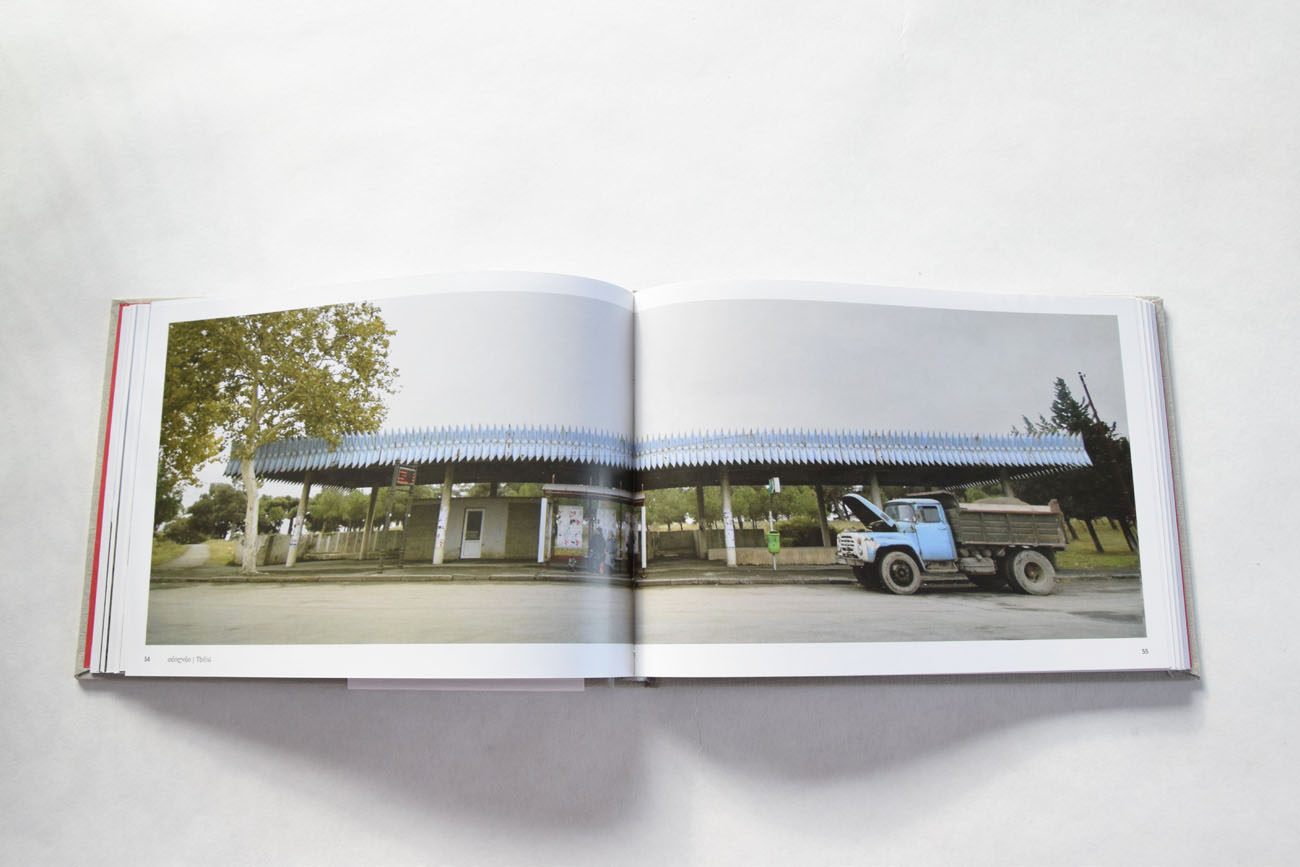Book - Soviet Bus Stops in Georgia. Photo Courtesy: Nanuka Zaalishvili