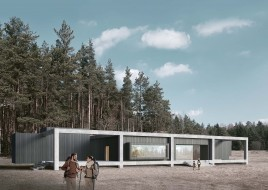 Kemeri Bog Visitor Center - Idaaf Architects